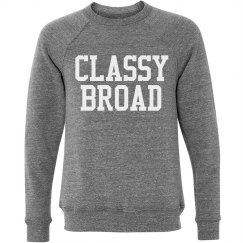 Classy Broad Sweatshirt