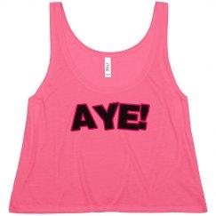 AYE! BLACK/RED