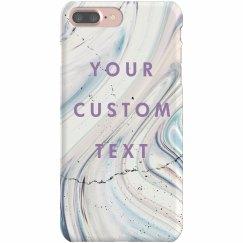 Custom Marble iPhone Case