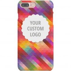 Custom Logo Geometric iPhone Case