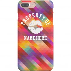 Property Of Relationship Phone Case