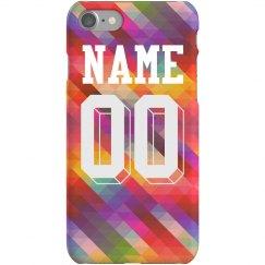 Custom Name/Number Sports Girl