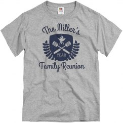 Personalized Family Reunion Cookout