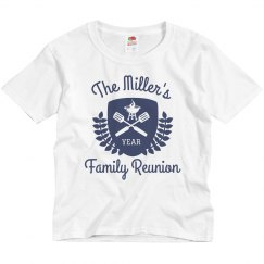 Family Reunion Custom Design