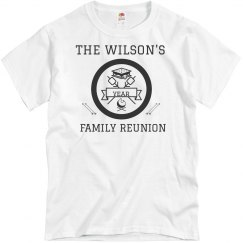 Custom Name Family Reunion Template