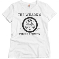 Family Reunion Custom Group Tees