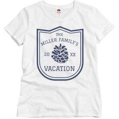 Custom Family Vacation Tee