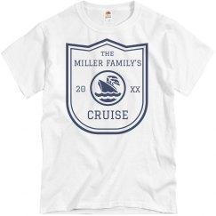 Custom Family Cruise Tee