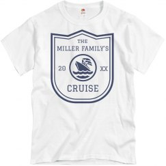 Custom Family Cruise Tee