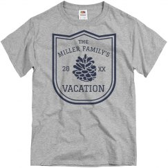 Custom Family Nature Vacation Tee