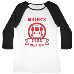 Custom Family Vacation Raglan