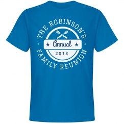 Custom Family Reunion Group Design