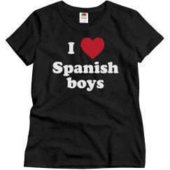 I love Spanish boys
