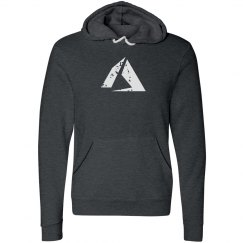 Azure Logo Fleece Pullover Hoodie Dark Grey Heather