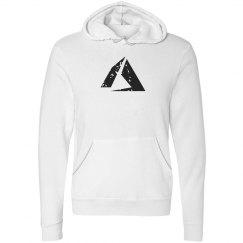 Azure Logo Fleece Pullover Hoodie White