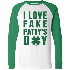 Fake Patty's Day Green Sleeves
