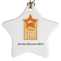 Javita star ornament 2