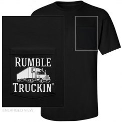Rumble Truckin' Pocket Shirt Black