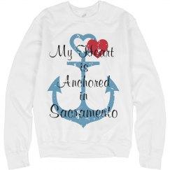 Anchored in Sacramento