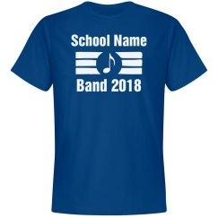 Custom Band Tee - Adult