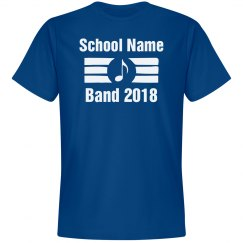 Custom Band Tee - Adult