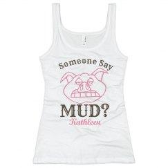 Funny Mud Run Girl 2