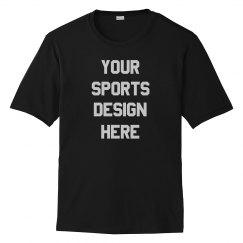 Custom Sports Design Tee