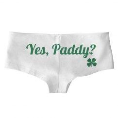 Funny St Patricks Day Undies