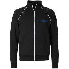 #KICKINAS UNISEX FLEECE TRACK JACKET