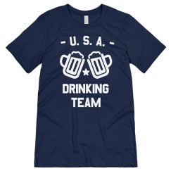 Funny USA Drinking Team