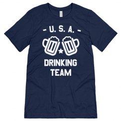 Funny USA Drinking Team