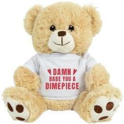 Valentines Bear For My Dimepiece