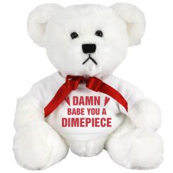 Valentines Bear For My Dimepiece