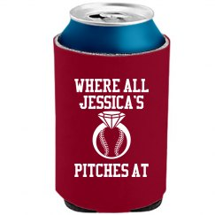 Bride to Be Baseball Bachelorette Koozie Fun