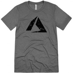 Azure Logo Tee Premium Heather
