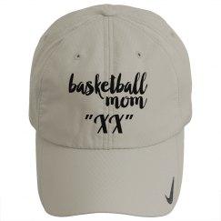 Proud basketball mom