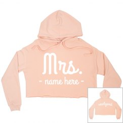 Mrs. Newlywed Custom Crop
