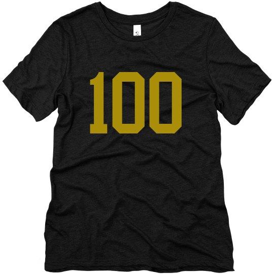 Be 100 TShirt