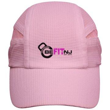 Be Fit NJ kettlebell logo hat