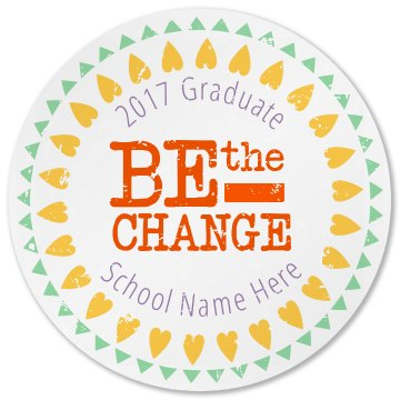 Be The Change Graduate