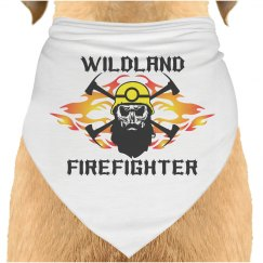 Wildland Firefighter Pet Bandana