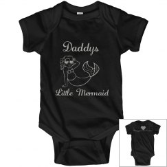 Silver daddys little mermaid