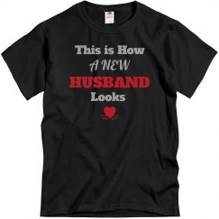 How new husband looks