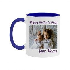 Custom Mother's Day Photo Color Mug