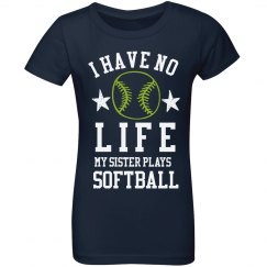 My Sister Plays Softball