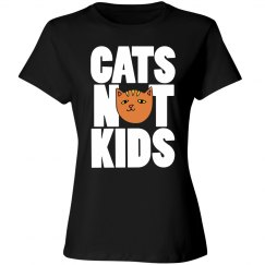 Cats Not Kids childfree humor