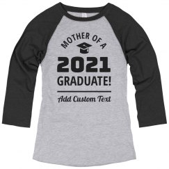 Graduation 2021 Shirts For Mothers