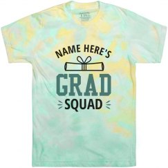 Custom Name Grad Shirt