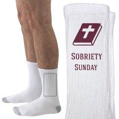 Sobriety Sunday Socks