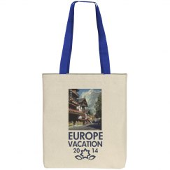 Europe Vacation Tote